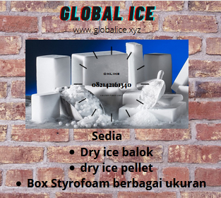 Supplier Dry ice Termurah Senen